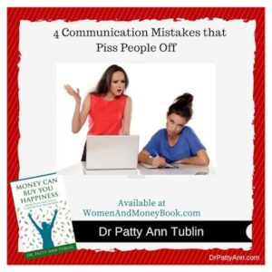 4 Communication Mistakes